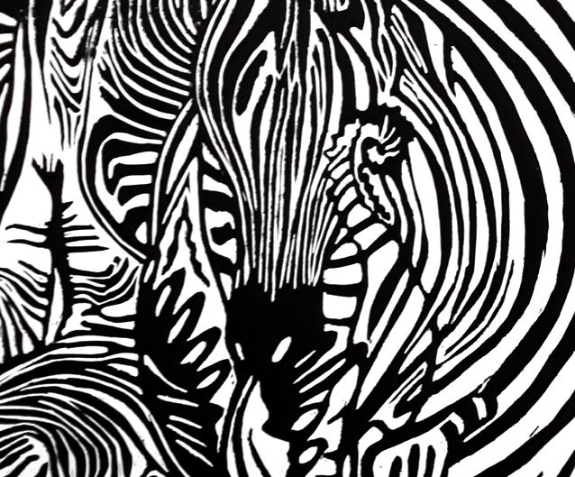 zyklus_exotik_III_holzschnitt_zebra